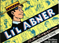 LI'L ABNER DAILIES Volume One: 1934-1936 by Al Capp Softcover (1988)