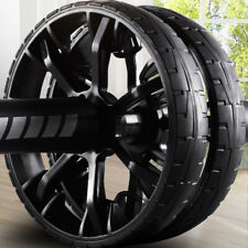AB Abdominal Roller ABS Wheel Exercise Fitness Workout Equipment For Home Gym