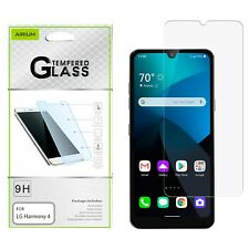 For LG Harmony 4 Tempered Glass Screen Protector Shockproof Premium Guard Clear