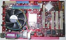 MSI Presa 775 MS-7143 Scheda madre con Celeron 2800 CPU