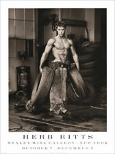 Herb RITTS Fred With Tyres Vintage 1989 Original Poster