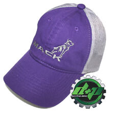 Ladies Mack Trucks Embroidered Logo baseball ball cap hat purple diesel gear