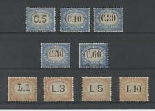 SAN MARINO 1925 TASSE 9V. 2 ** CENTRATO