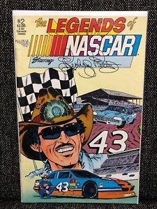 Richard Petty Legends of NASCAR #2 Comic 1991 Vortex Comics