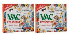 2 x Vac Air Freshner 6 Pack Summer Meadow Vacuum Cleaner Pet Lovers Hoover Disc