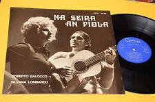ROBERTO BALOCCO S LOMBARDO LP NA SEIRA AN PIOLA ORIG 1972 NM ! GATEFOLD LAMINATE