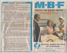(EJ17) 1966 AU MBF application (writing on back) $