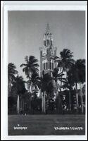 BOMBAY Mumbai Indien India Vintage Postcard ~1940 Rajabai Tower Building AK