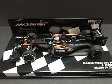 Minichamps - Fernando Alonso - McLaren - MP4/30 - 2015 - 1:43 - British GP -Rare