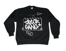 Taylor Gang Crewneck Wiz Khalifa TGOD Paper Planes Weed Juicy J Tee Multi-Colors