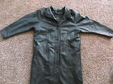 Pelle Woman's Leather Coat Made in Korea Full Length Size Med. With Liner