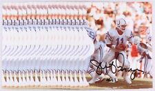 JEFF GEORGE SIGNED #11 INDIANAPOLIS COLTS 8x10 JSA PHOTO REDSKIN VIKINGS RAIDERS