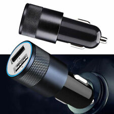 Compatible Dual USB 2A Car Charger 2 Port Adapter For Smart Cell Phone DC 12-24V