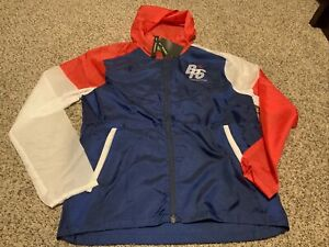 NWT Unisex Nike Blue Ribbon Sports Club Packable Running Jacket  BRS Sz: Medium