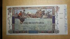 France/ 5000 Francs Flameng -1918- REPRO type SPECIMEN   /specimenco®