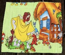 Vintage Walt Disney Snow White and the Seven Dwarves Dopey Pillow Case Cover