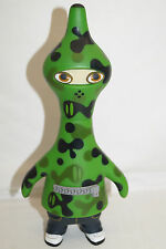 PETE FOWLER CAM-GUIN Vinyl Toy Figure grün green ca 20cm JAPAN 2003