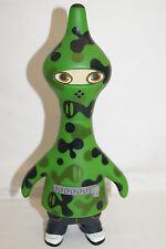 Pete Fowler CAM-metropoli Vinyl Toy Figure VERDE GREEN CA 20cm Japan 2003