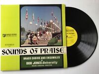 THE BOB JONES UNIVERSITY BRASS CHOIRS & ENSEMBLES Sounds of Praise LP+bonus CD
