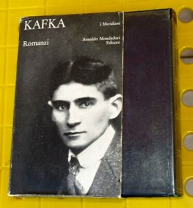 Franz Kafka ; Romanzi  I Meridiani Mondadori 1970 AB