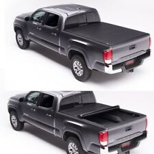 "FIT For 2009-17 Dodge Ram Crew 5'7"" Bed JDMSPEED Soft Roll Up Tonneau Cover"
