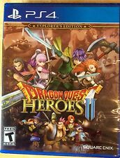 Dragon Quest Heroes II 2 Explorer's Edition Sony Playstation 4) PS4