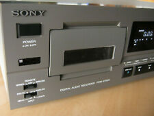 SONY PCM-2700A 4 Heads DAT Deck - 186 Hours heads life - IR Remote