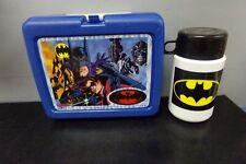 1997 BATMAN & ROBIN LUNCHBOX & THERMOS
