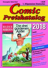 Comic Preiskatalog 2018  Softcover   NEU