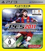 PS3 Spiel - Pro Evolution Soccer 2011 / PES 11 [Platinum] DEUTSCH mit OVP
