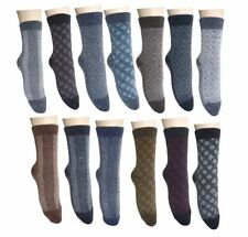 Wool Blend Machine Washable Ankle-High Socks for Women