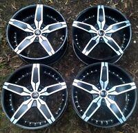 "Blaque Diamond 20"" X 8.5"" Wheels Rims Mags 5 X 120 Commodore BMW Great Condition"