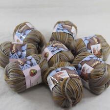 Lot of 8BallsX50g Chunky Cotton Special Smooth Scarf Hand Knitting Yarn GrayPeru