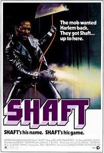 Shaft - 1971 - Movie Poster