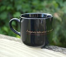 Benson & Hedges Coffee Mug  Mark Twain Quote Everybody Talks About the Weather