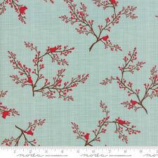 Redbird Christmas Fabric 3 yds Return to Winters Lane Kate Birdie quilting Moda