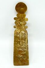 Ashanti-tribe-antique-decorated-brass-spoon-used-for-gold-dust-amp-nuggets  Ash