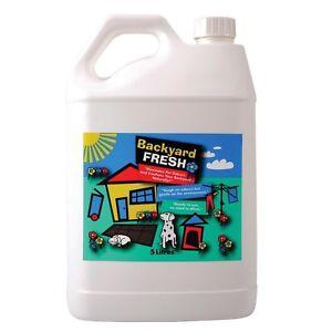 Backyard Fresh Urine Free 5 Litre Dog Odour Stain Cleaner Control Grass Turf