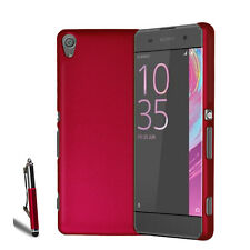 For Various Sony Xperia Phone Slim Hard Case Cover + Retractable Stylus + Film