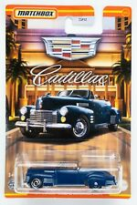 2021 Matchbox Cadillac #12 1941 Cadillac® Series 62 Convertible Coupe BLUE / MOC