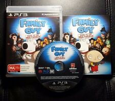 Family Guy Back To The Multiverse (Sony PlayStation 3, 2012) PS3 - FREE POST