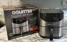 Gourmia Digital Air Fryer 6 Qt/5.7L.  Stainless Steel Model GAF685