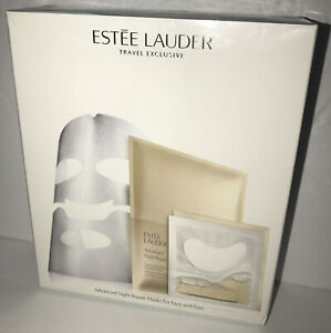 Estee Lauder Travel Exclusive Advanced Night Repair Masks For Face and Eyes New