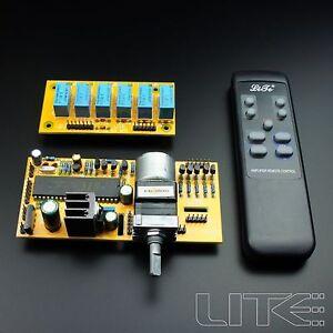 MV4 Motorized Remote Volume Control+Input Selector kit