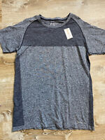 Orange Theory Fitness Mens Fitted Athletic Shirt Grey Size 2XL New with Tags