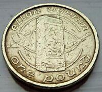 1994 One Pound £1 Coin Isle Of Man IOM Mobile Phone Ellan Vannin Circulated