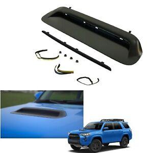 Hood Scoop Bulge Fit For Toyota 4Runner 2010-2021 Kit TRD PRO Tacoma Matte Black