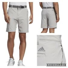 New Adidas Ultimate 365 shorter inseam 8.5 inch Solid Golf Shorts- grey 2