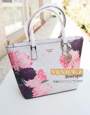 BNWT $189 GUESS LINNEA Handbag Shoulder Bag Satchel Cement