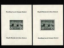 Opc 1941 Belgium Semi-Postal Souvenir Sheets Sc#317-8 Mnh 42774